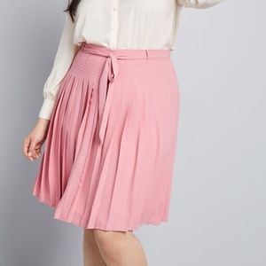 Modcloth Purely Pretty Pleated Skirt